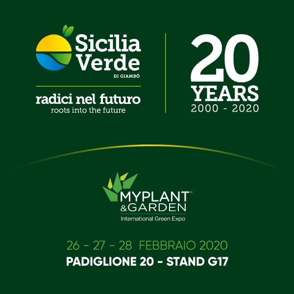 Sicilia Verde - International Green Expo - Padiglione 20 Stand G17